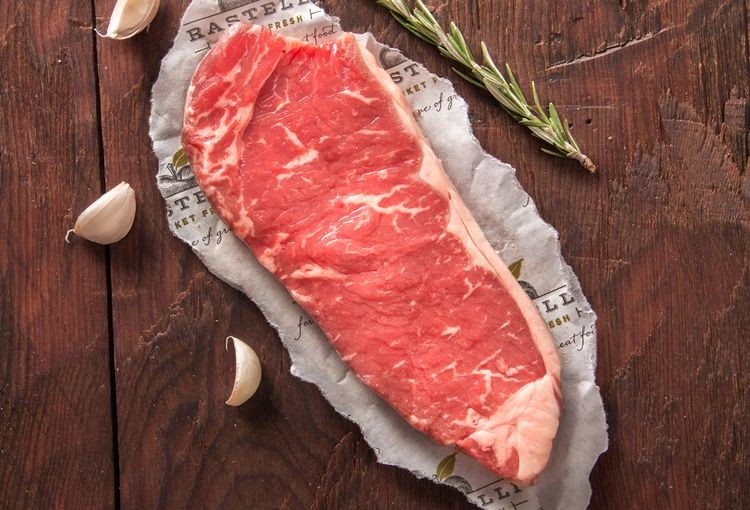Morendat Dry Aged New York Strip (500 grams)