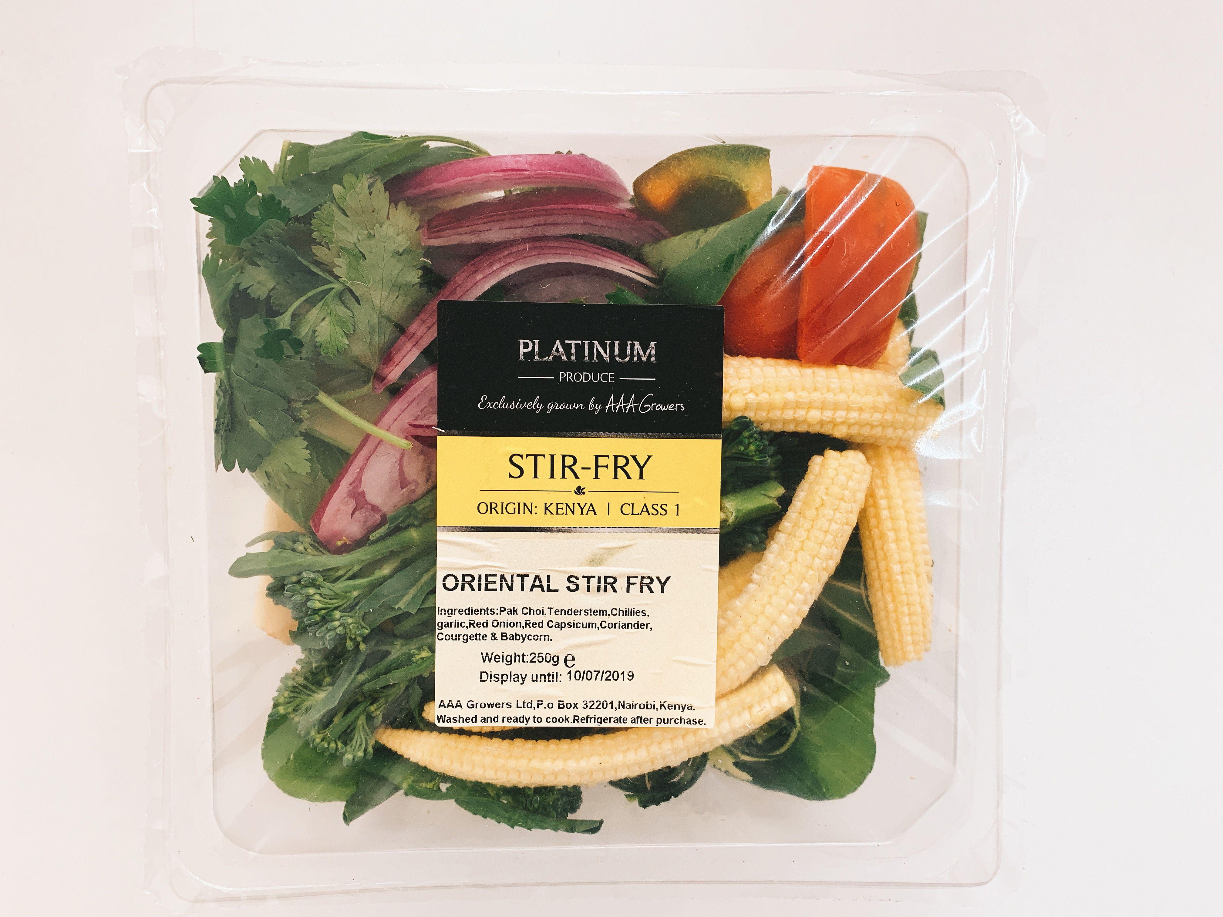 Oriental Stir fry (250gms)