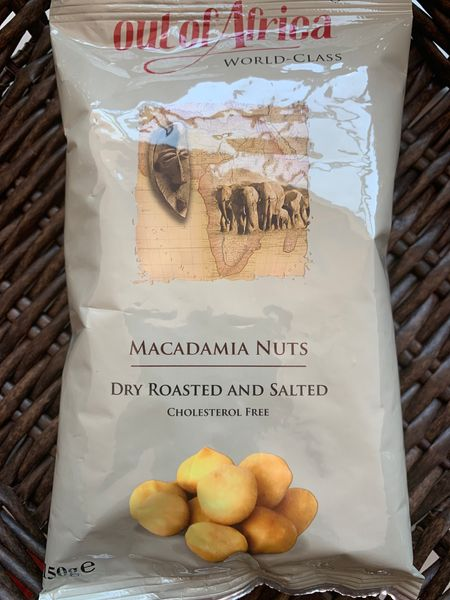 Out of Africa Dry Roasted and salted macadamia nuts(150g)