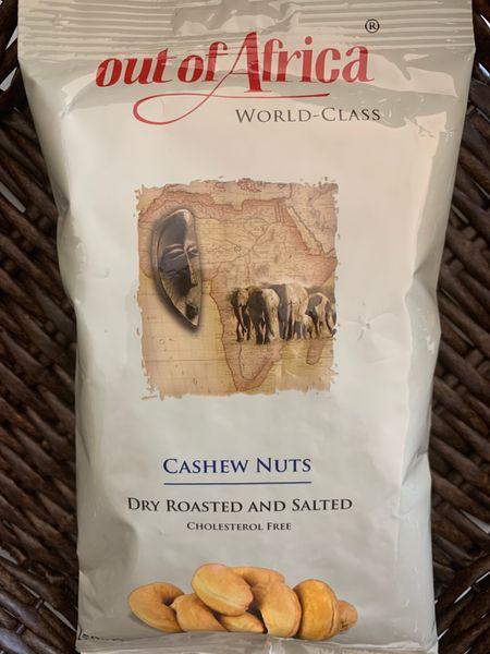 Out of Africa Dry Roasted and salted Cashew nuts(150g)