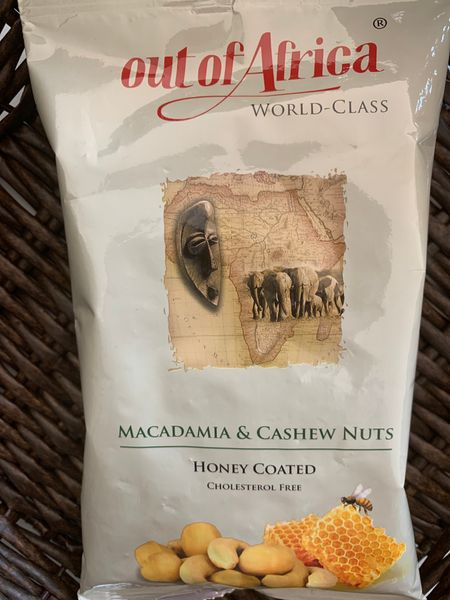 Out of Africa Dry Honey coated Almond and Macadamia nuts(150g)