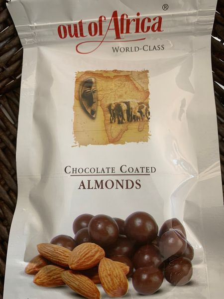 Out of Africa Dry chocolate coated Almond balls(60g)
