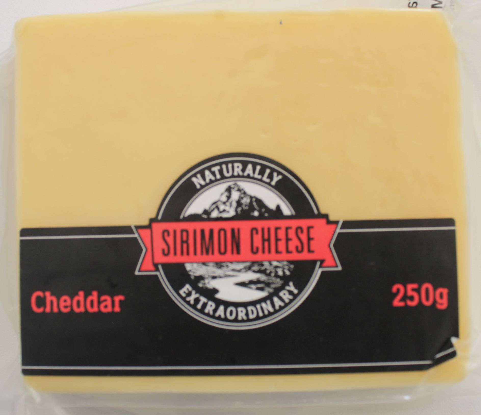 Sirimon Cheese Cheddar 250gms