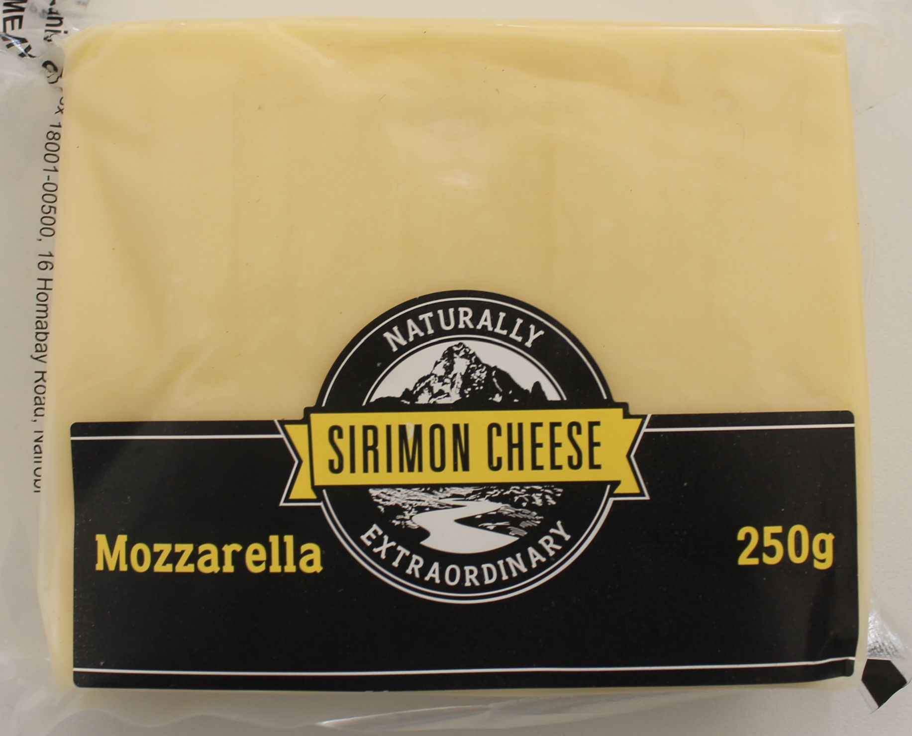 Sirimon Cheese Mozzarella 250gms
