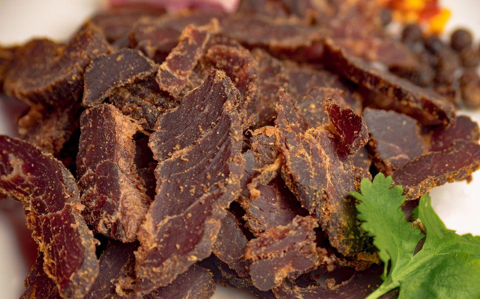 Morendat Dry Aged Coriander Biltong Bar Bites- Shredded (150 grams)