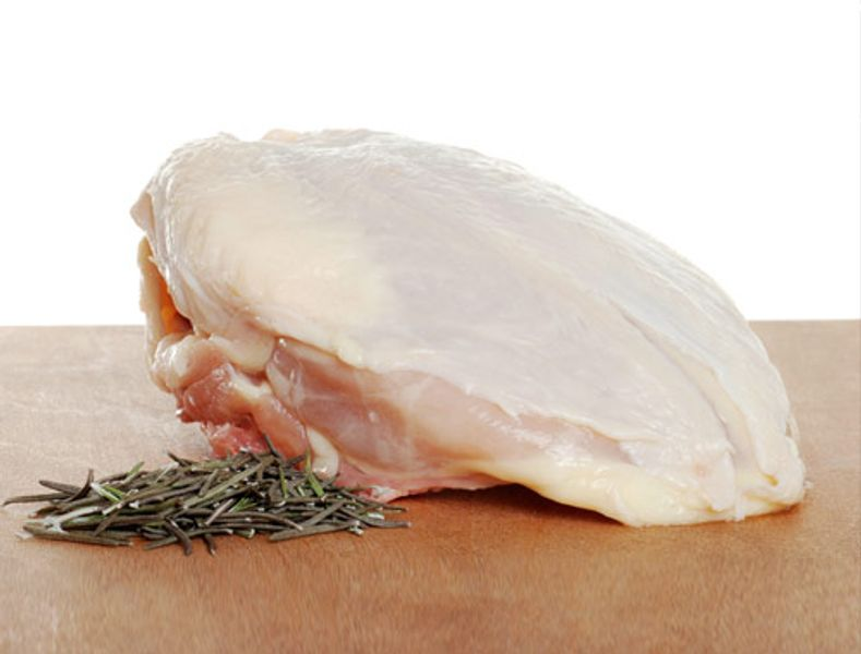 Chicken breast bone-in
