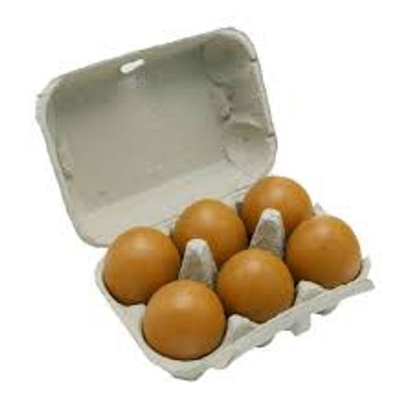 Yellow Yolk Eggs 1/2 dozen