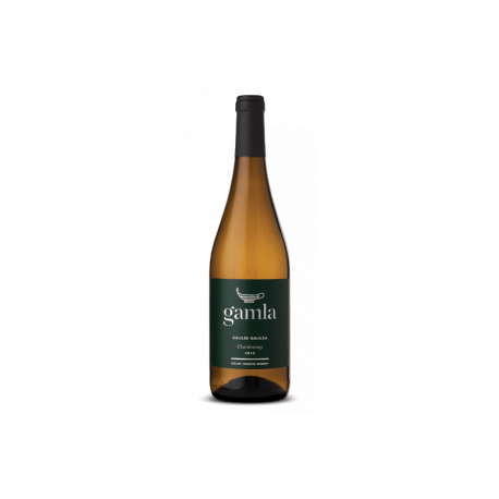 Gamla  Chardonnay Dry White Wine From Israel
