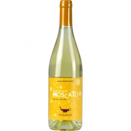 Hermon Moscato Sweet White Wine From Israel