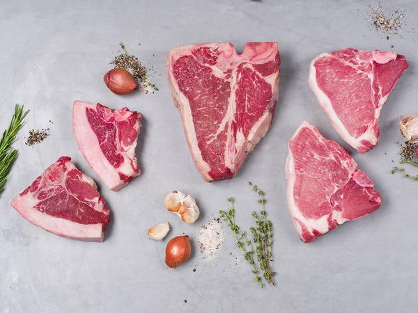 BBQ Beef, Lamb, Goat and Pork Porterhouse 2kg Pack